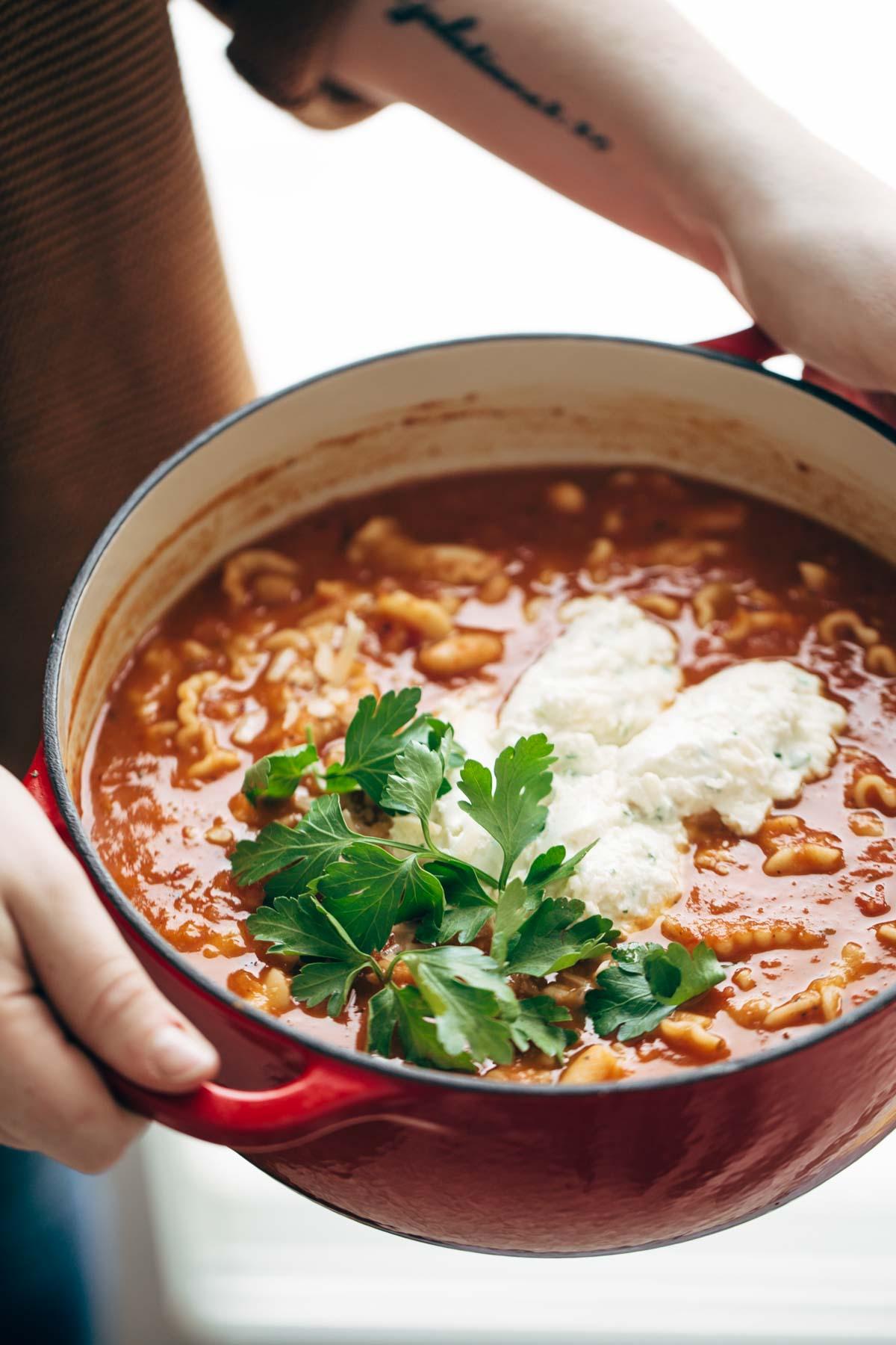 Lasagna Soup-1