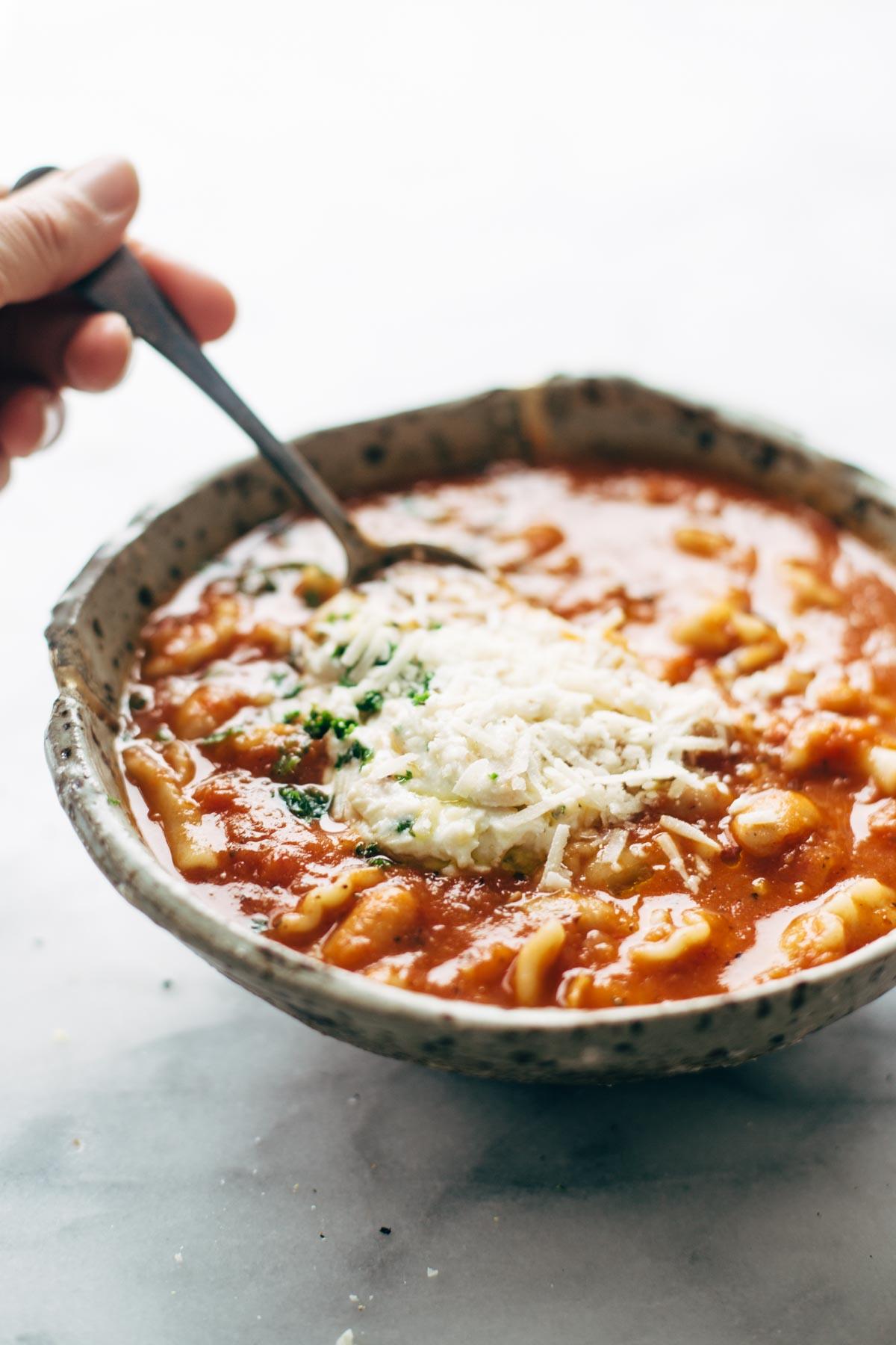 Lasagna Soup-4