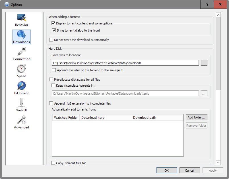 qBittorrent Tips that improve the Bittorrent client