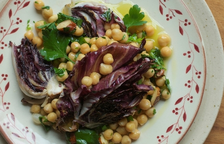 Jenny Chandler's chickpea salad