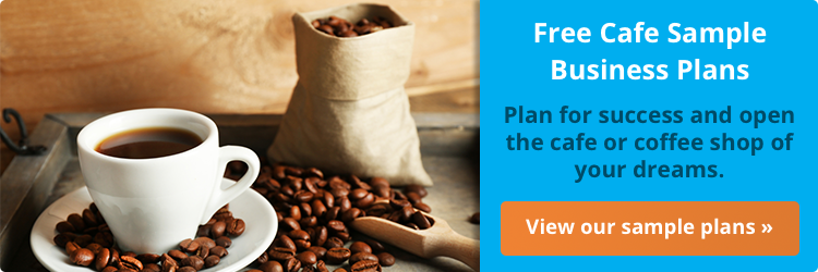 View our coffee shop sample business plans!