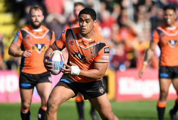 Super League news: Castleford's Junior Moors ruled out for at least ten weeks