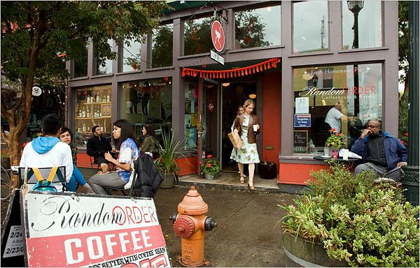 Alberta Street, Portland; small business concept