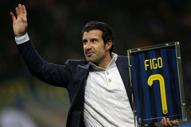 Former Portugal, Barcelona and Real Madrid midfielder Luis Figo joins UEFA as a football advisor