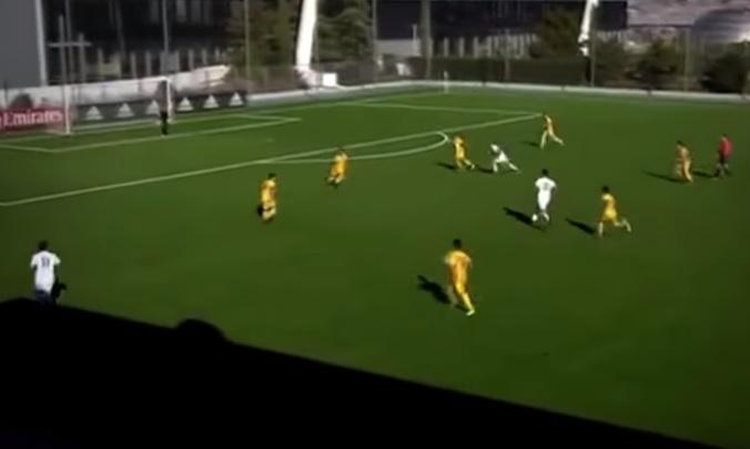 Zinedine Zidane's son Theo scores belter for Real Madrid youth team