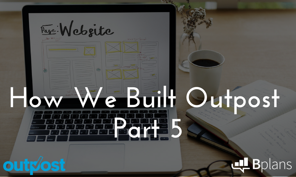 web design, how we built outpost
