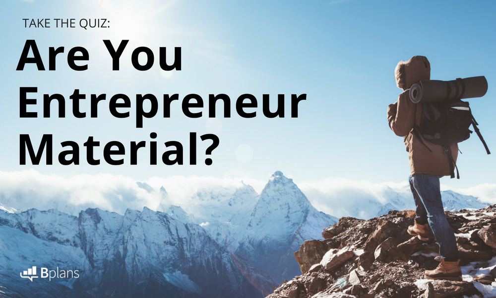 what makes a successful entrepreneur quiz
