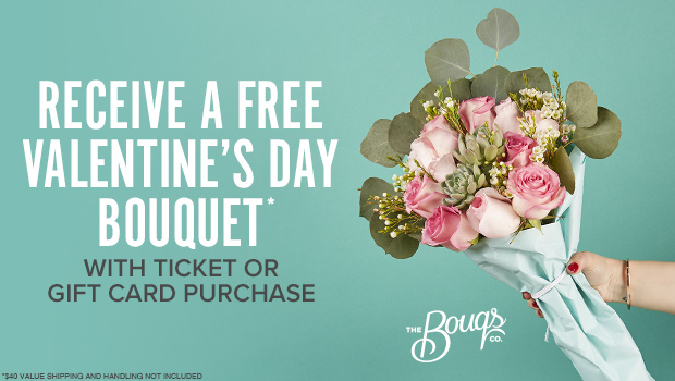 FREE V-DAY BOUQUET*