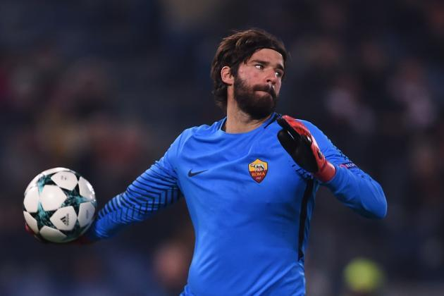 Liverpool transfer report: Goalkeeper target Alisson to get £80m release clause in new Roma contract