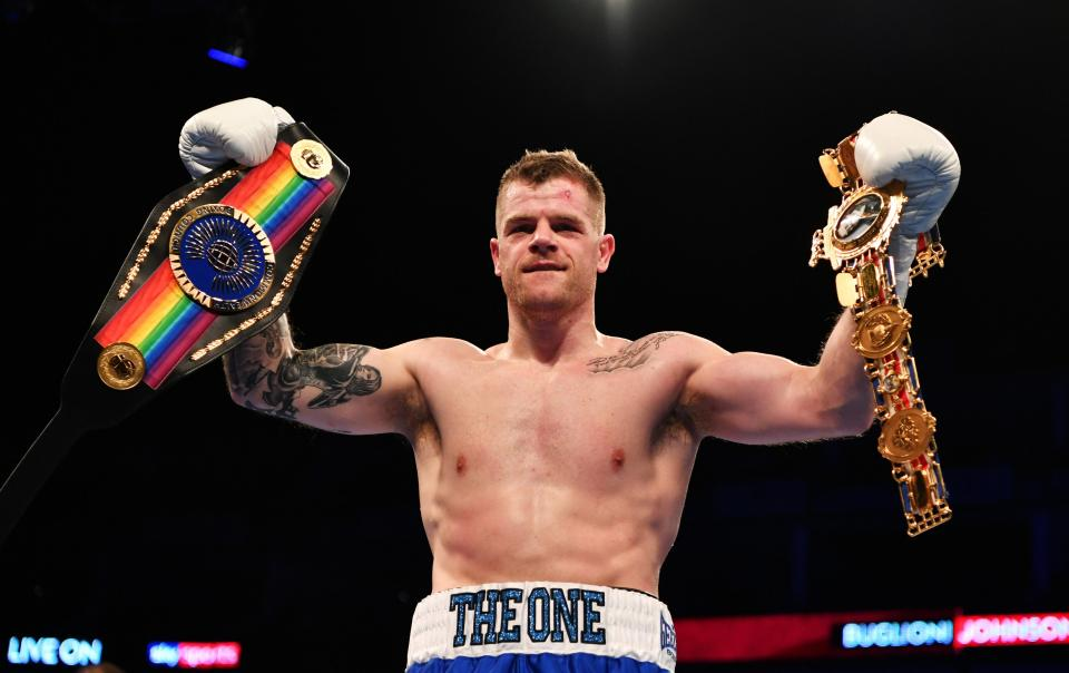 Smith beat Frank Buglioni in style in his last bout