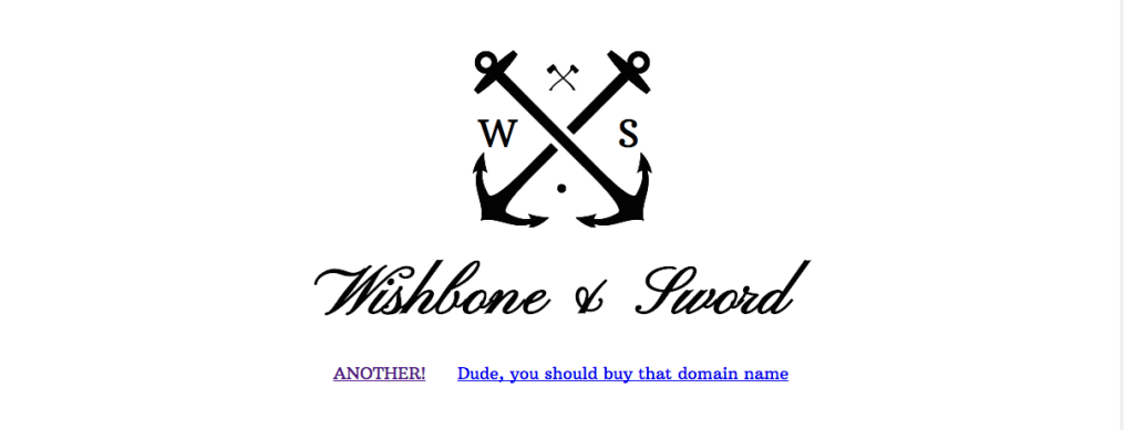 choosing a name for your business