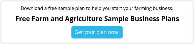 free agriculture and farm sample business plans
