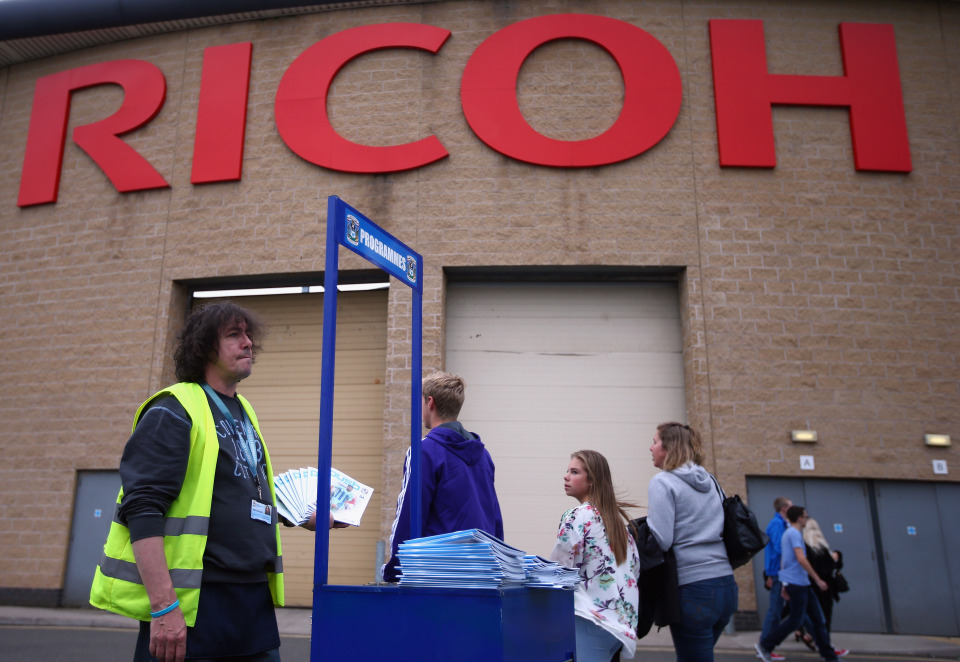 Coventry City fans can no longer call the Ricoh Arena home