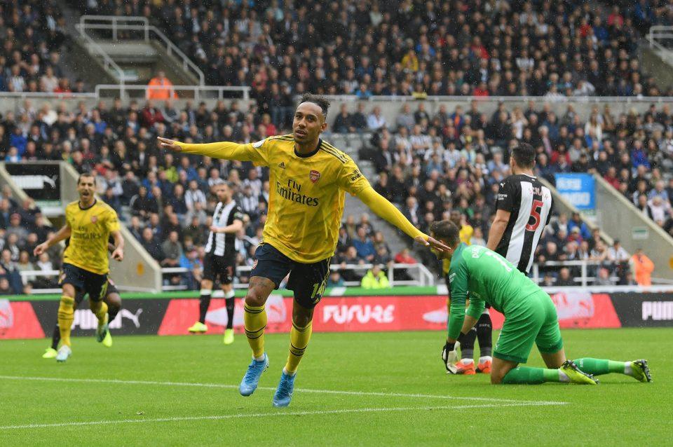 Pierre-Emerick Aubameyang scored the winning goal for Arsenal at Newcastle last weekend