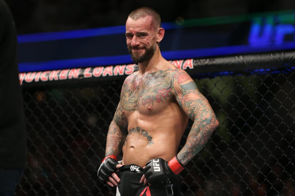 CM Punk had a failed spell in UFC