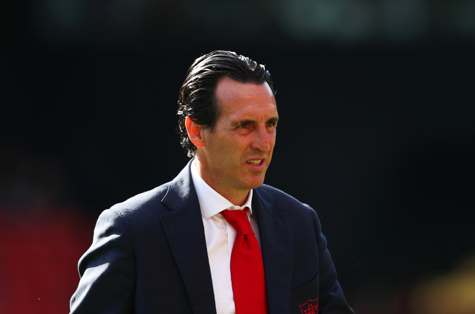 Most Arsenal fans turned on Unai Emery towards the end of his reign at the Emirates
