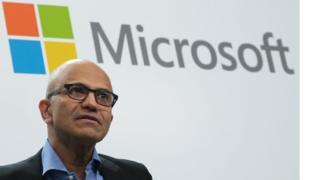 Satya Nadella, CEO of Microsoft.