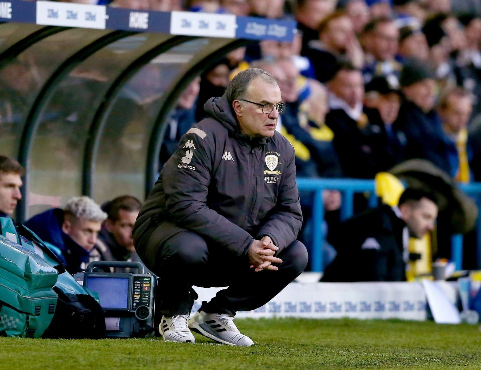 Leeds United manager Marcelo Bielsa needs a win against Bristol City this weekend