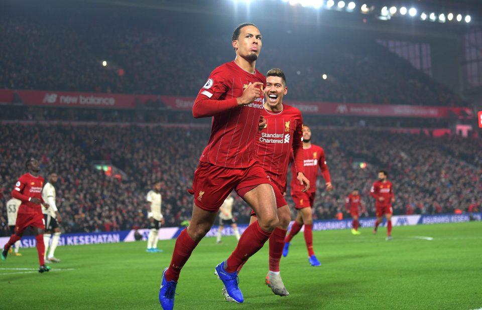 Van Dijk has helped Liverpool go from strength to strength