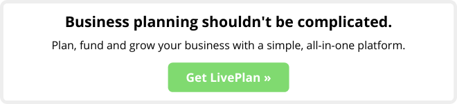 Business planning shouldn't be complicated. Plan, fund and grow your business with a simple, all-in-one platform. Get LivePlan.