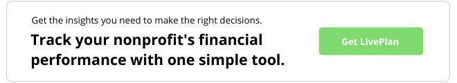 Get the insights you need to make the right decisions. Track your nonprofit's financial performance with one simple tool. Get LivePlan