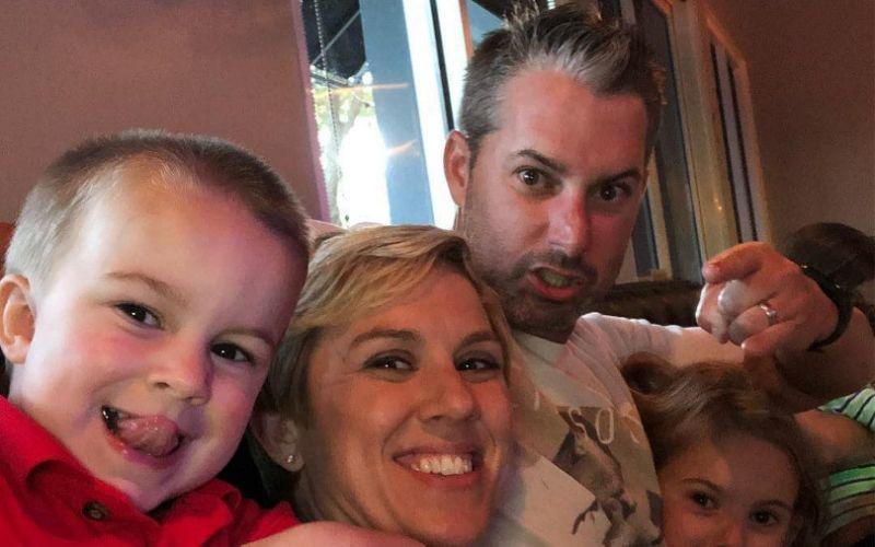 Jay McLuen and his family - Jay McLuen