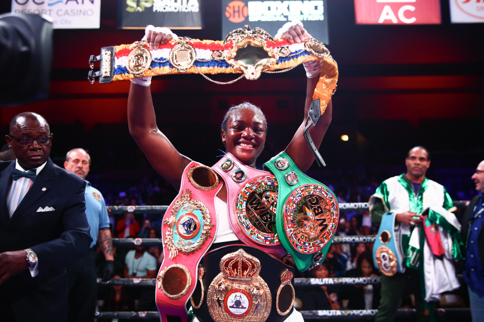 Claressa Shields has achieved all there is to achieve in women's boxing as an amateur and a professional